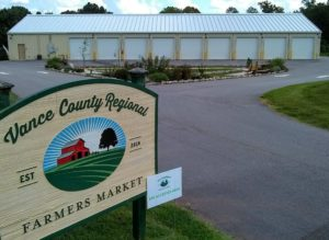 Vance County Regional Farmers Market site