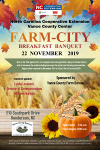 Cover photo for Farm-City Breakfast Banquet 2019