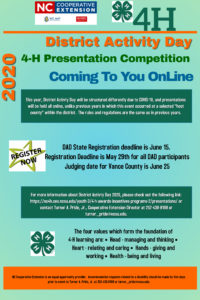 Cover photo for 4-H District Activity Day