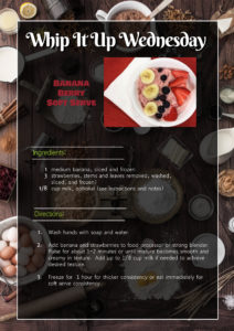 Cover photo for Whip It Up Wednesday Recipe