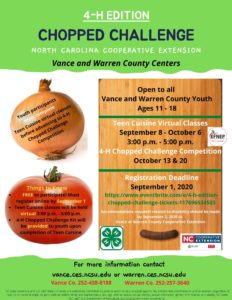 Cover photo for Chopped Challenge 4-H Edition