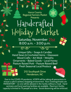 Cover photo for Handcrafted Holiday Market