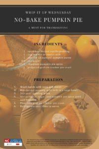 No-Baked Pumpkin Pie