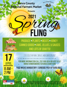 Cover photo for Farmers Market Opens April 17 With SPRING FLING!