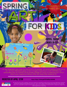 Cover photo for Spring Art for Kids