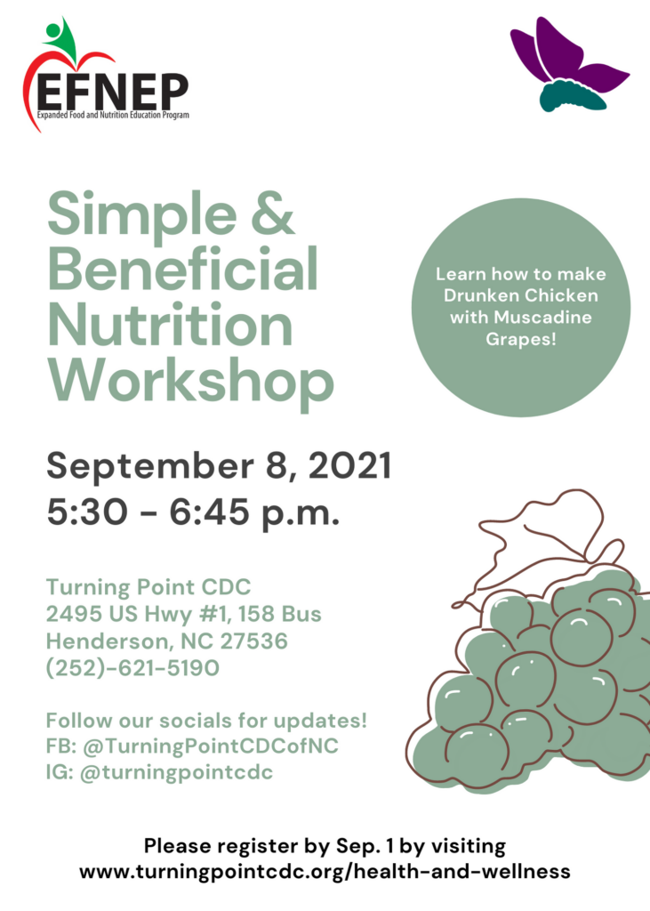 Simple and Beneficial Nutrition Workshop